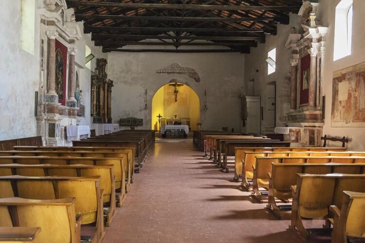 Santo Stefano a Monte - Interno